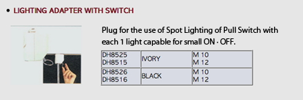 Lighting Adapter With Switch